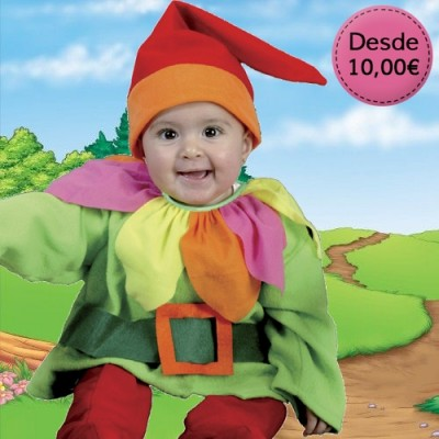 Elf, fairy and gnome costumes for babies