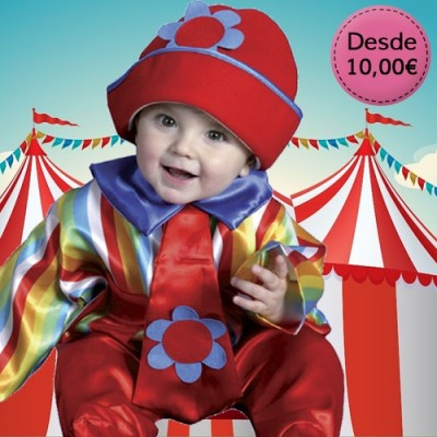 Clown costumes for babies
