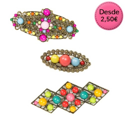 Broches Flamencos Multicolor