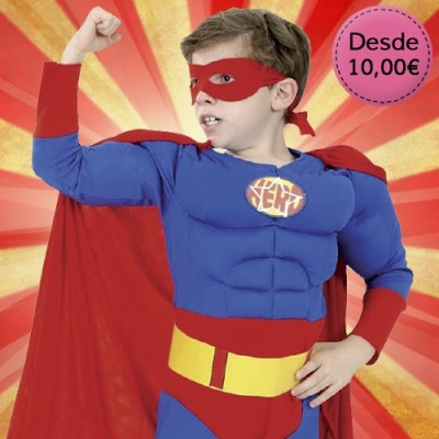 Superhero costumes for boys