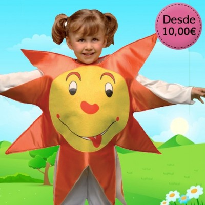 Sunshine, cloud and rainbow costumes for boys