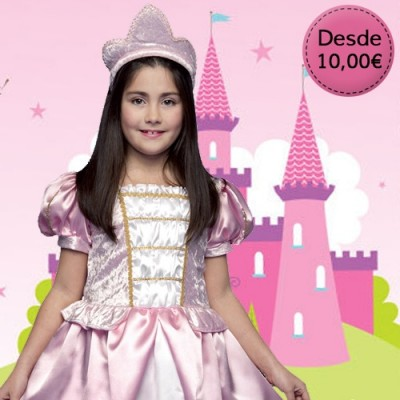 Princess, fairy and queen costumes for girls