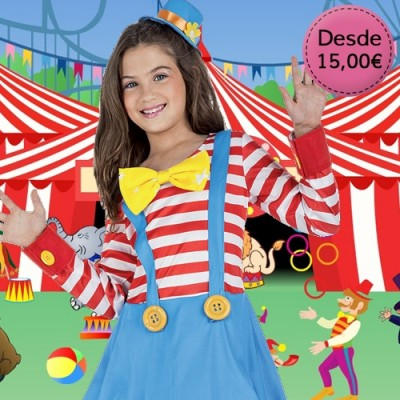 Clown costumes for girls