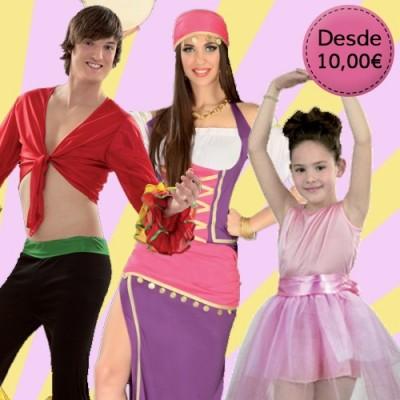 Disfraces para Danza