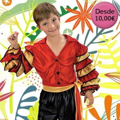Dance costumes for boy