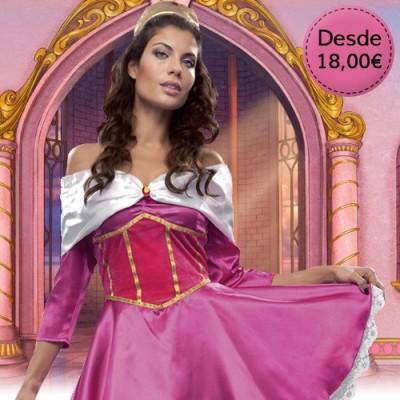 Disfraces de Princesas, Hadas y Reinas