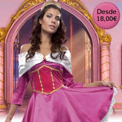 Princess, fairy and queen costumes for woman