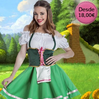 Folk and country costumes for woman