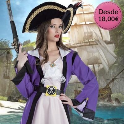 Disfraces de Piratas y Bucaneras