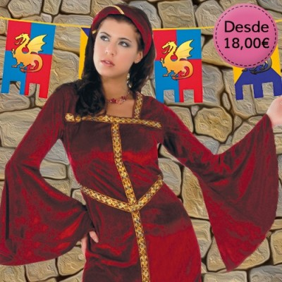 Disfraces Medievales Femeninos