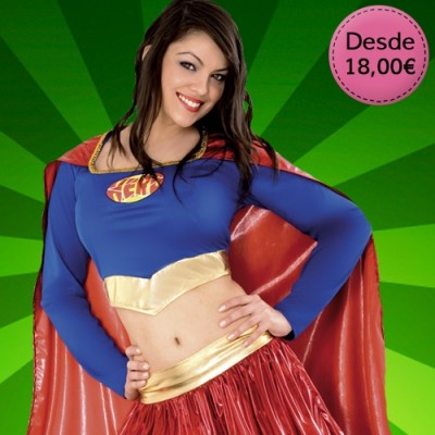 Comic heroine costumes for woman