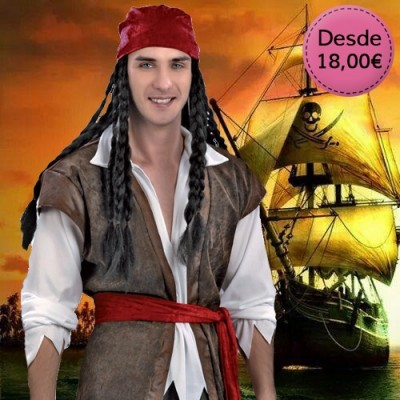 Pirate costumes for man