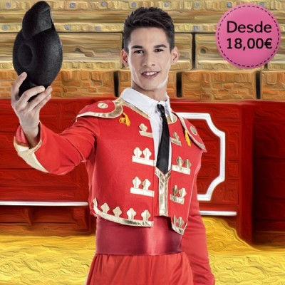 Bullfighters costumes for man