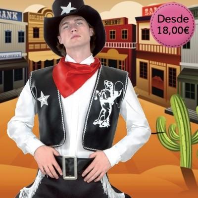 Disfraces de Cowboys, Vaqueros e Indios