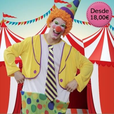 Disfraces de Payasos y Circo