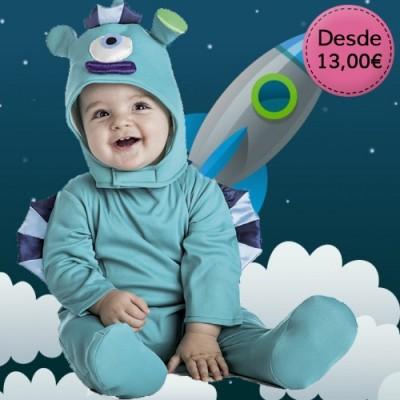Fantastic creature costumes for babies