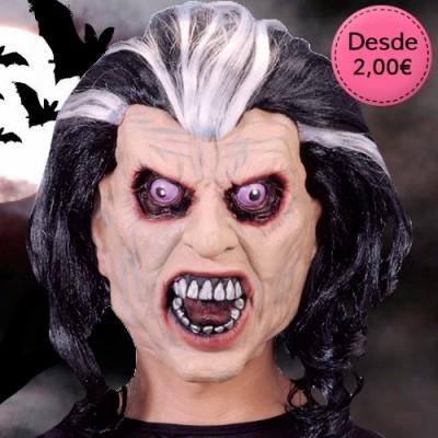 Halloween masks and eye masks