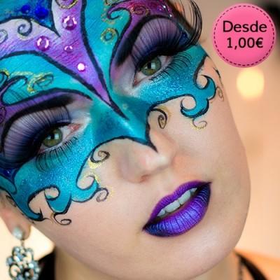 Maquillaje de Fiesta, Disfraces, Carnaval y Halloween