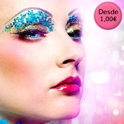 Glitter, Purpurina y Maquillaje para el Cuerpo