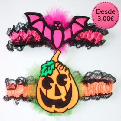 Halloween garters