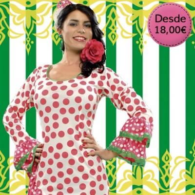 Spanish Flamenca, Sevillana & Chulapa costumes