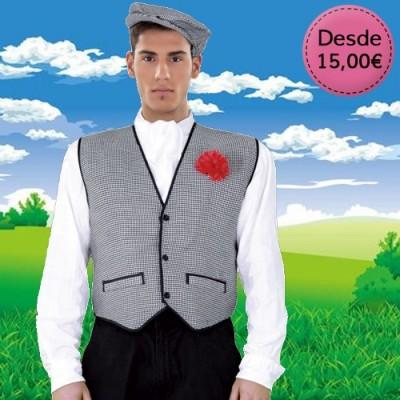 Spanish Chulapo costumes