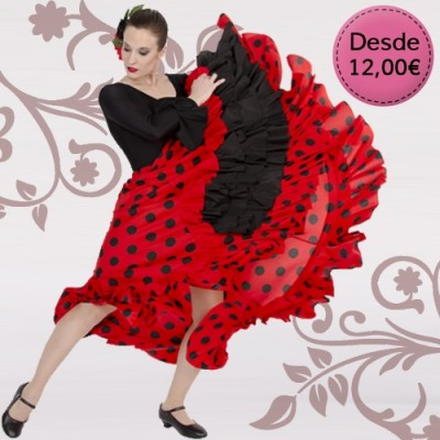 Spanish Flamenco / Sevillana dresses & skirts for woman