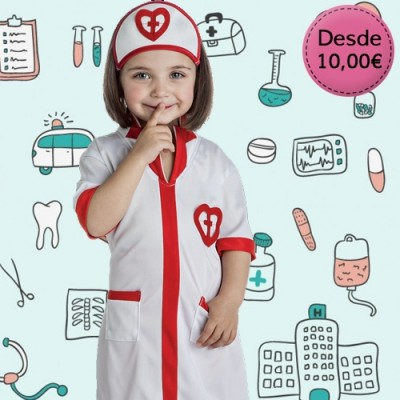Uniforms and profession costumes for girls