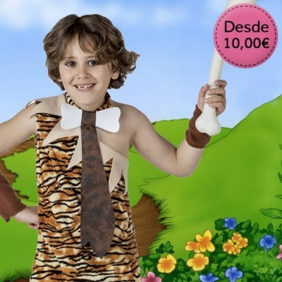 Caveman and troglodyte costumes for boys