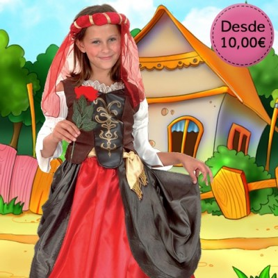 Medieval costumes for girls