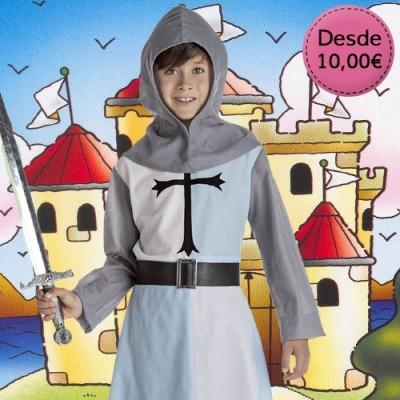 Disfraces Medievales para Niños