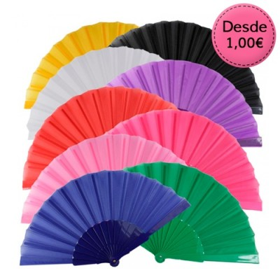 Plain colour fans