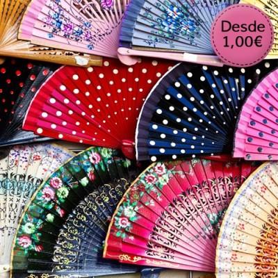 Abanicos para Flamencas y Sevillanas