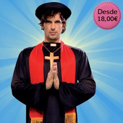 Disfraces Monjes y Religiosos