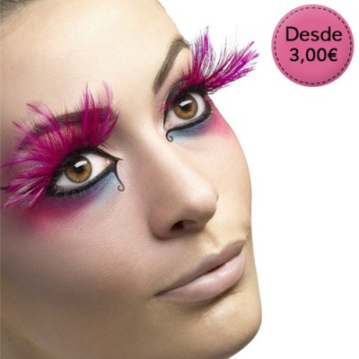 Carnival - fake eyelashes for costumes