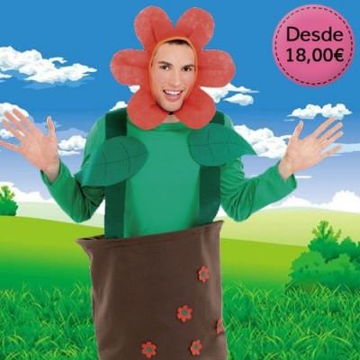 Flower, fruit & veggie costumes
