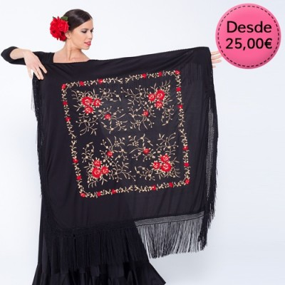 Spanish Flamenco Manila shawls