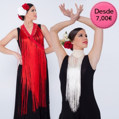 Spanish Flamenco and Sevillanas tassels