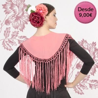 Spanish Flamenco & Sevillanas small shawls for woman