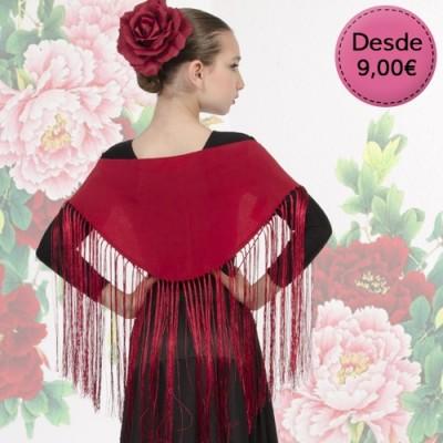 Spanish Flamenco & Sevillanas small shawls for girl