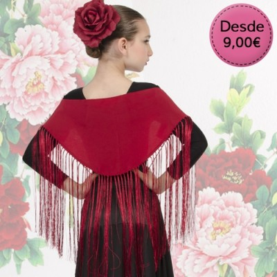 Spanish Flamenco small shawls for girl