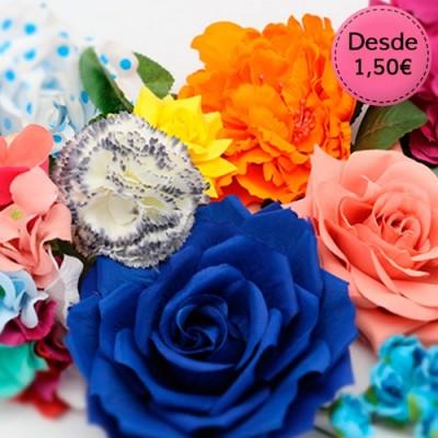 Flores para el Pelo - Flamencas y Sevillanas