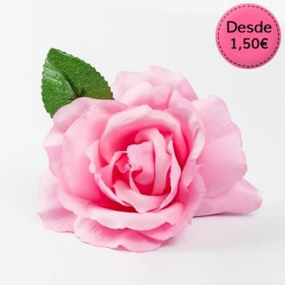 Pink Flamenco hair flowers