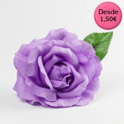 Flores para Flamenca Color Púrpura y Violeta