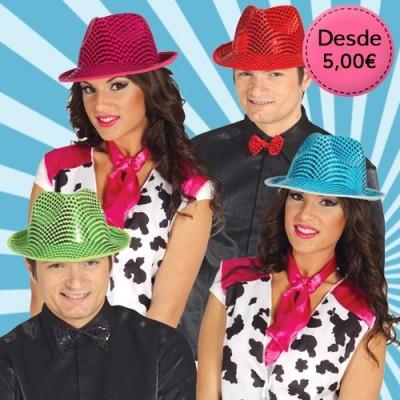 Sombreros de colores