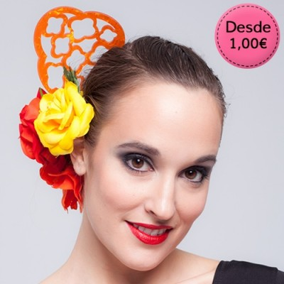 Spanish Flamenco hair combs