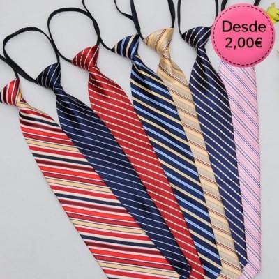 Zipper printed ties