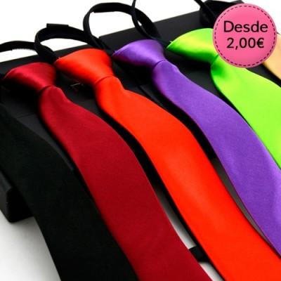 Zipper plain ties
