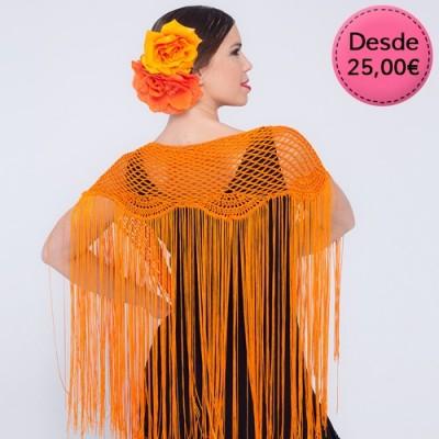 Mantones Flamencos de Crochet - Mantones de Ganchillo