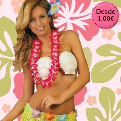 Accesorios para Disfraces Hawaianos y Hawaianas - Carnaval